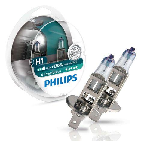 Lampada-Philips-Farol-X-Treme-Vision-H1-Par