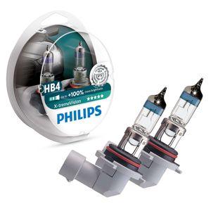 Par-Lampada-X-treme-Vision-Para-Farois-Philips-HB4