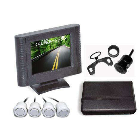 Sensor-de-Estacionamento-4-Sensores-Prata-e-Display-LCD-B092-Orbe-