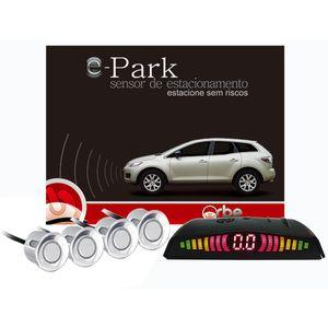 Sensor-de-Estacionamento-4-Pontos-Branco-e-Display-LED-Orbe-