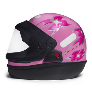 Capacete-San-Marino-Femme-Rosa-tamanho-58