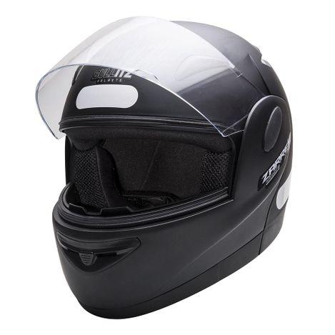 Capacete-Zarref-Classic-V4-Preto-Fosco-tamanho-56