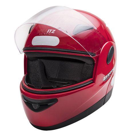 Capacete-Zarref-Classic-V4-Vermelho-tamanho-58