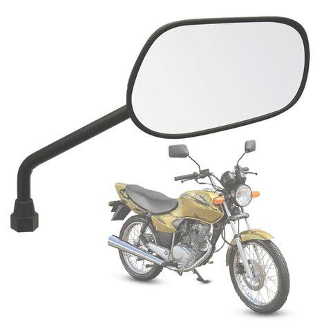 Retrovisor-GVS-Mini-para-Honda-Titan-2000-Direito-Preto