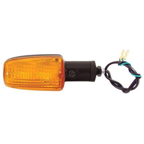 Pisca-Moto-Universal-Titan-125-150-Lente-Laranja-GVS
