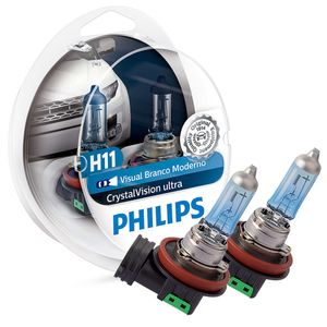Par-Lampada-H11-Super-Branca-Philips-Crystal-Vision-Ultra
