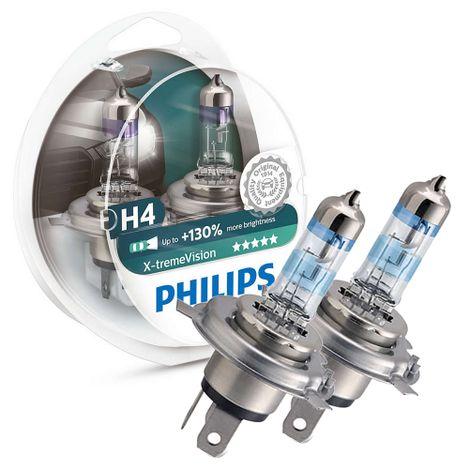 Par-Lampada-H4-Philips-X-tremevision-Farol-Alto-Baixo