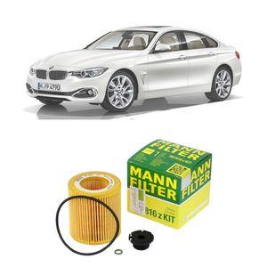 Filtro-oleo-Mann-BMW-420i-2014-2016-Motor-N20B20A-N20B20B