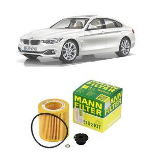 Filtro-oleo-Mann-BMW-428i-2014-2016-Motor-N20B20A-N20B20B