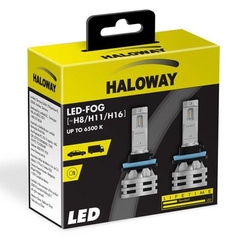 Lampada-LED-FOG-H8-H11-H16-Haloway-12V-24W-6500K