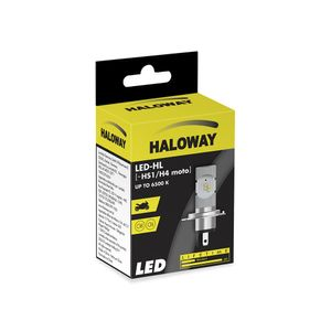 Lampada-LED-H4-HS1-Haloway-12V-6500K-Corrente-Continua