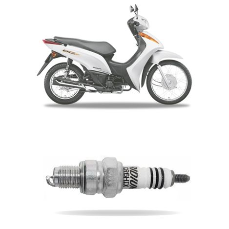 Vela-Ignicao-NGK-Iridium-CR6HIX-Honda-Biz-100-ES-2013-2014