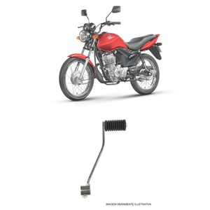 Pedal-de-Cambio-Cromado-Cometa-Honda-CG-125-Cargo-Fan-Today