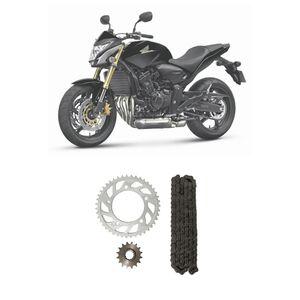 Kit-Coroa-Pinhao-Corrente-Moto-Nakata-TM10195R-Honda-CB600F