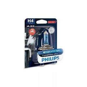 Lampada-Moto-Halogena-H4-Crystal-Vision-Philips-55W-12V