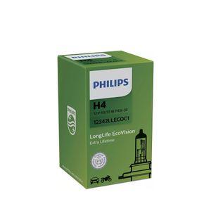 Lampada-Halogena-H4-LongLife-EcoVision-Philips-55-60W-12V