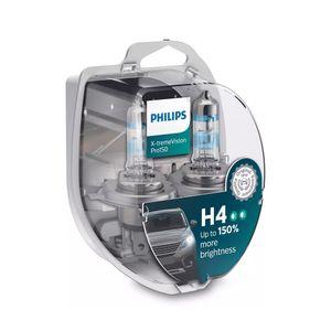 Par-Lampada-Halogena-H4-X-treme-Vision-Pro150-Philips-12V