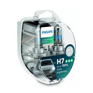 Par-Lampada-H7-Halogena-X-treme-Vision-Pro150-Philips-12V