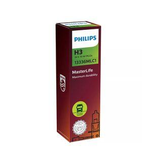 Lampada-Halogena-Farol-H3-Master-Life-Philips-24V-Caminhao