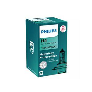 Lampada-Philips-Farol-H4-Master-Duty-X-treme-Vision-24V-70W