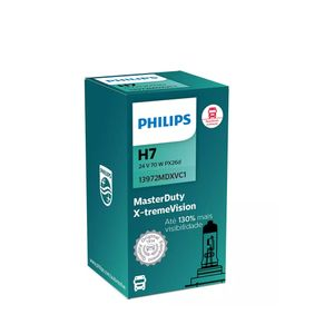Lampada-Farol-H7-Philips-Master-Duty-X-Treme-Vision-24V