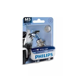 Lampada-Halogena-Farol-M5-Philips-Blue-Vision-12V-Moto
