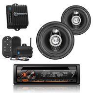 combo-som-pioneer-dehs4280bt-falante-amplificador-controle